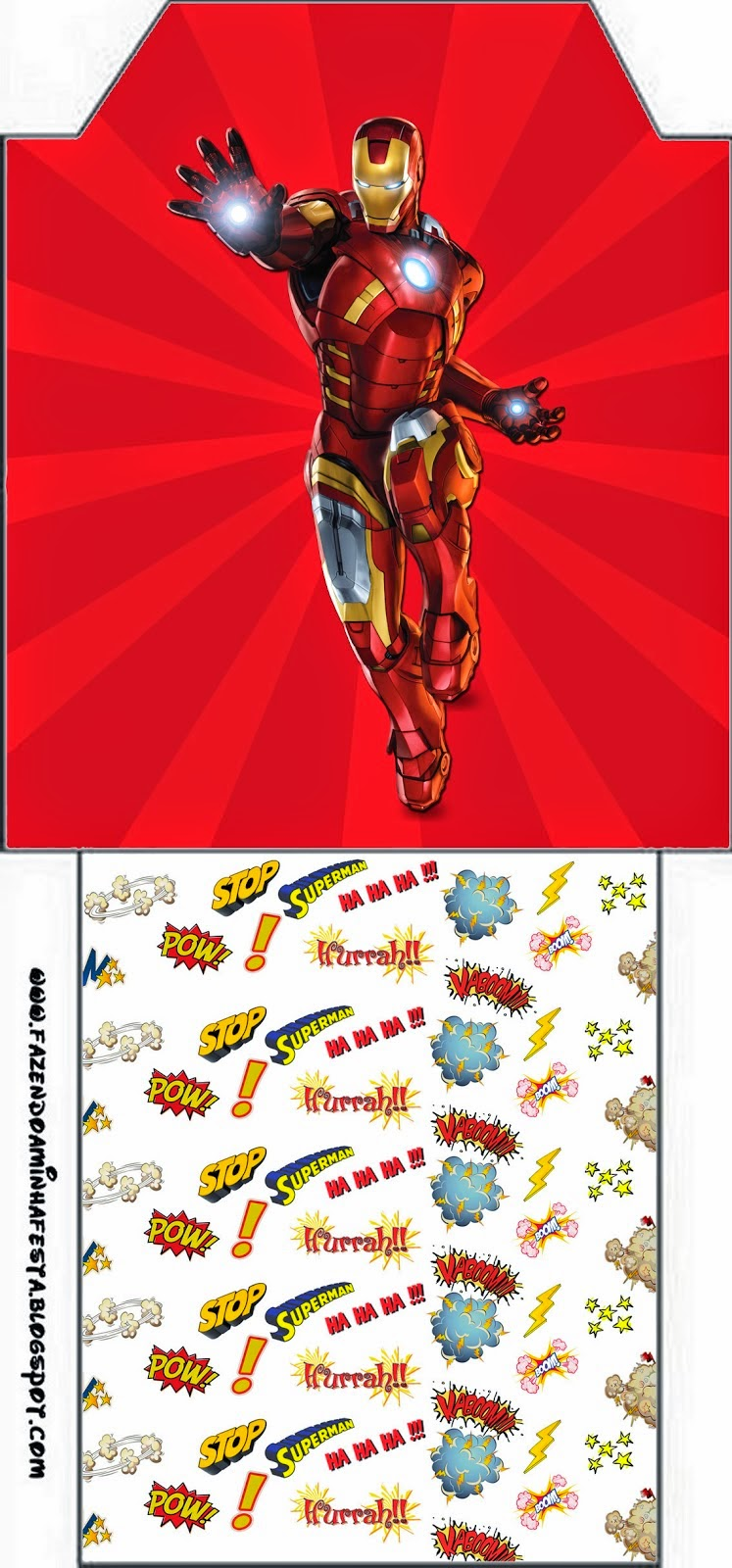 graphic regarding Iron Man Printable named Iron Guy: Free of charge Social gathering Printables. - Oh My Fiesta! for Geeks