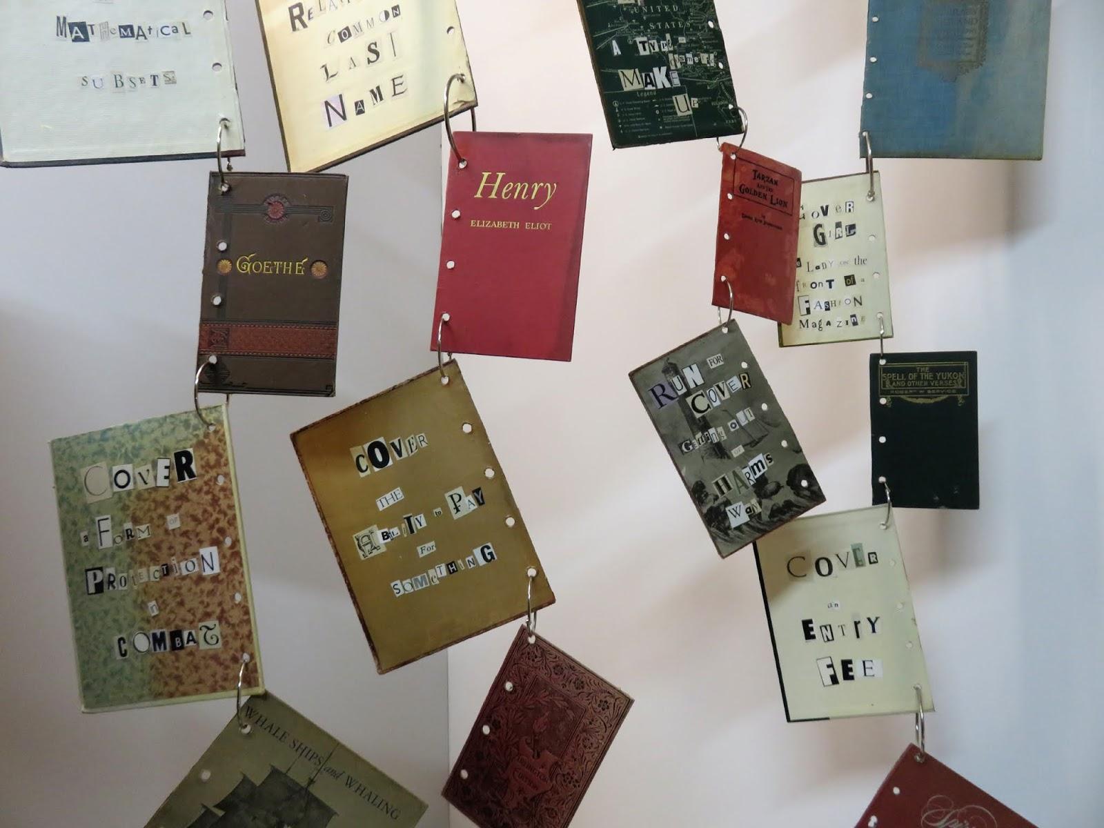 Art In Stitches: Book Cover Installation