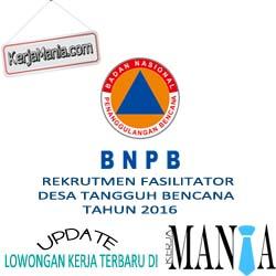 Lowongan Kerja Lembaga Badan Nasional Penanggulangan Bencana (BNPB)