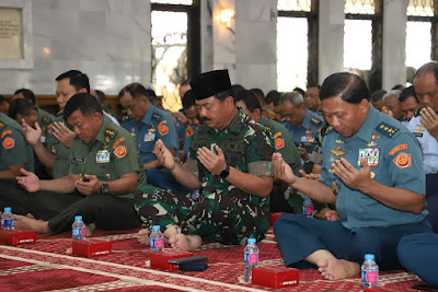 Panglima TNI Hadiri Maulid Nabi Muhammad SAW 1440 H