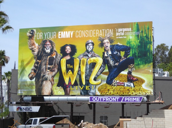 Wiz Live Emmy 2016 consideration billboard