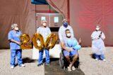 Hospital de Campanha do Gama comemora 200ª alta da unidade