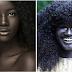 La Diosa Negra, la modelo que venció el racismo en las pasarelas con su piel increíblemente negra