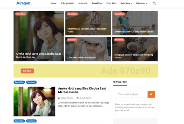 Juragan Template Blogspot