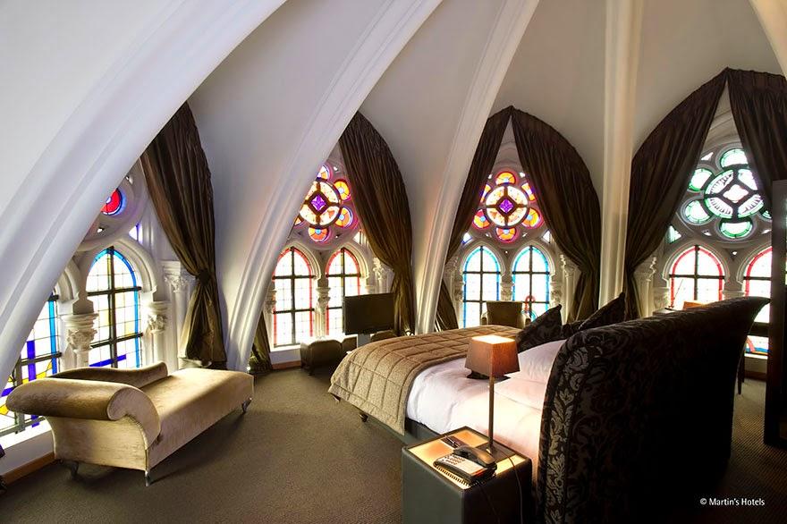 Iglesia de Martin Patershof Hotel, Mechelen, Bélgica