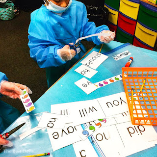 Students are engaged in Contraction Surgery