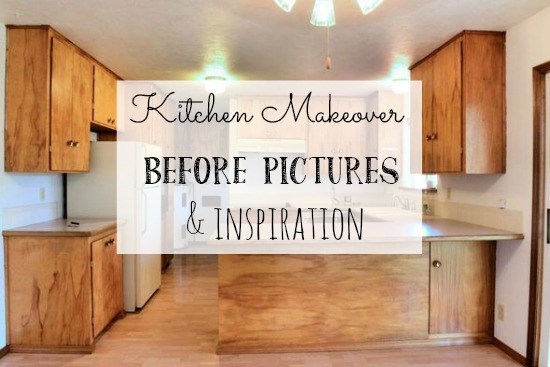 Kitchen remodel before pictures and inspiration