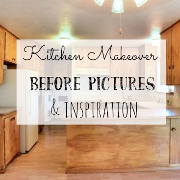 Kitchen Makeover - The Before and My Inspiration