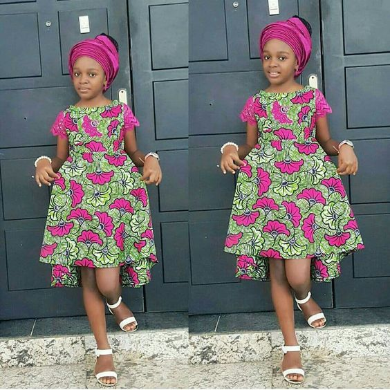 beautiful ankara styles for baby girls and littles, ankara styles for kid girls, ankara styles for girls, ankara styles for babies, beautiful and stylish ankara designs ideas for baby girls and little girls