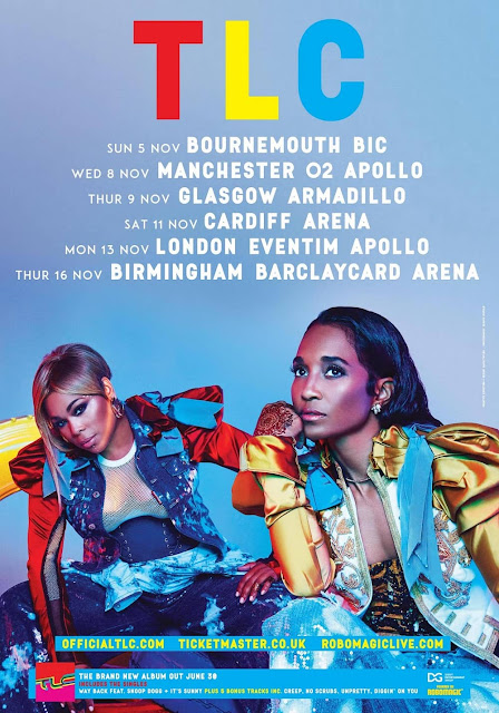 TLC first ever UK tour Autumn 2017