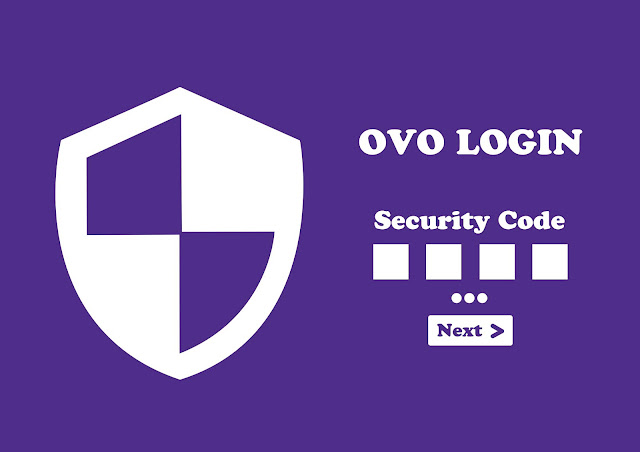 ovo login security code