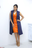 Priyamani in Beautiful Short Deep neck Orange Dress ~  Exclusive 14.JPG