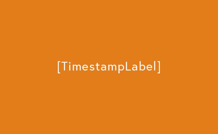 Cara Menampilkan Teks Keterangan Timestamp (TimestampLabel)