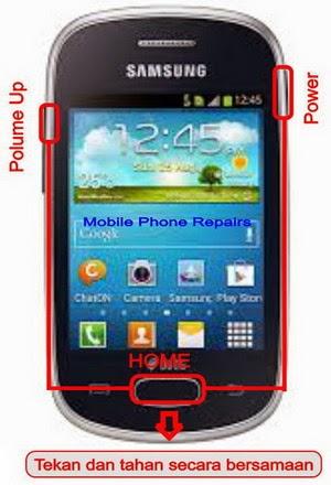 Cara Factory Reset Samsung Galaxy Star S5282