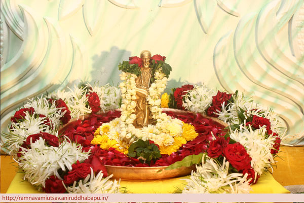 Shree Sai Sadashiv Idol.