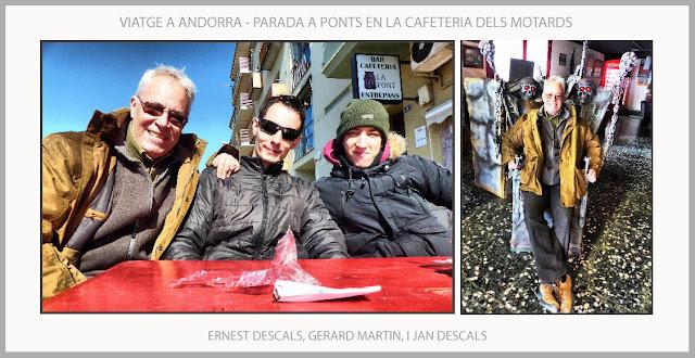PONTS-CAFETERIA-MOTARDS-VIATJAR-ANDORRA-CARTELL-PREMIS-ARTS-DIBUIX-ERNEST DESCALS-GERARD MARTIN-JAN DESCALS