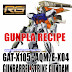 Gundam Recipe: RG 1/144 Gunbarrel Strike Gundam