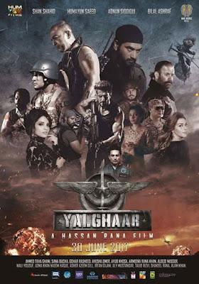 Photo of Yalghaar 2017 Pakistani Movie Free Download Full HDCAM