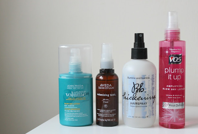 A review of the best thickening hairsprays for more voluminous hair