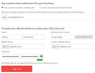 Membuat Email dengan Domain Sendiri Gratis