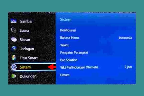 Cara Merubah Bahasa Pada SmartTV Samsung