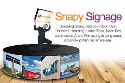 Snapy Menerima Pesanan Dan Pembuatan Jasa Neon Box 3D