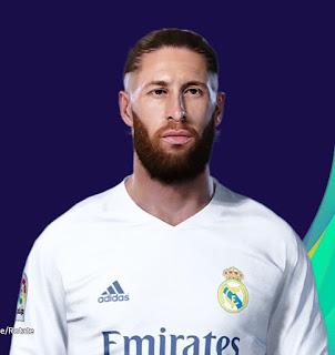 PES 2021 Faces Sergio Ramos by SR