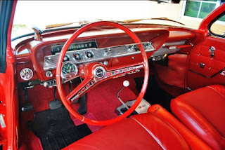 1962 Chevrolet Impala SS Convertible Interior