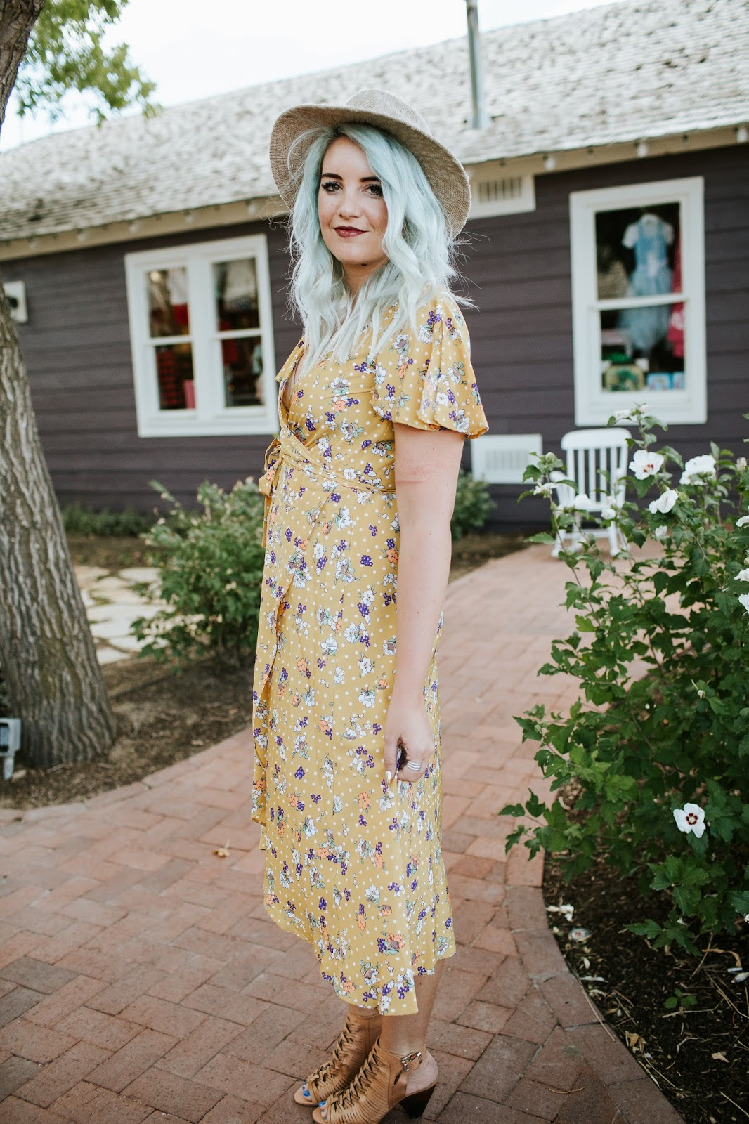 Floral Look, Utah Fashion Blogger