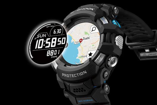 Casio anuncia o primeiro smartwatch Wear OS na linha G-Shock