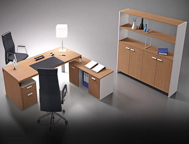 best high end modern home office desks UAE for sale