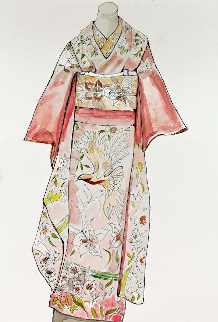kimono,illustration,emmanuelle-ricard
