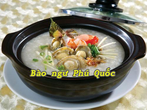 Cách nấu món cháo bào ngư tôm