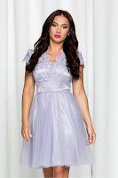 Rochie de ocazie Ella Collection Julia lila