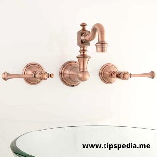 rustic wall mount bathroom faucets