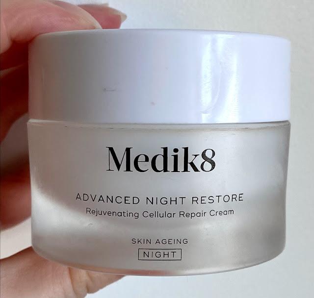 Medik8 Advanced Night Restore moisturiser