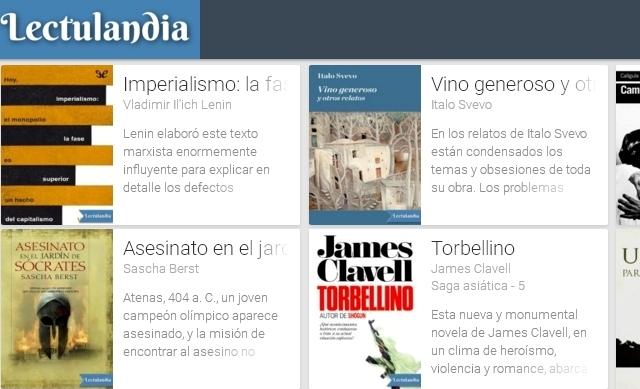 Lectulandia, Sitio donde descargar libros - Solo Nuevas