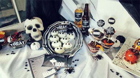 Halloween Free Printable Party Table