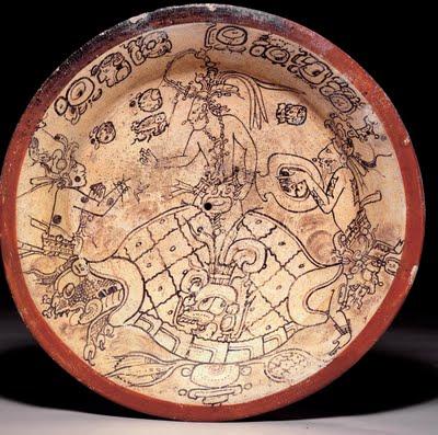 Relief kura-kura suku Maya