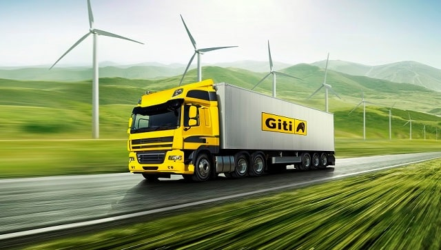 giti tire group first tpms system trucking safety