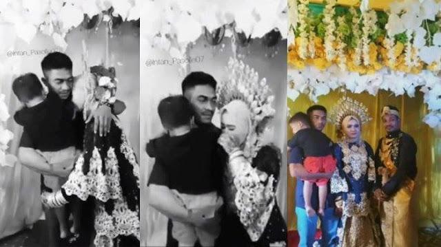 PESTA Pernikahan Berubah Tangis Pilu, Mantan Suami Tiba-tiba Muncul Gendong Anak: Selamat Berbahagia