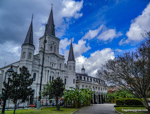 Catedral de São Luís e Presbitério, Nova Orleans