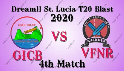 Who will win GICB vs VFNR 4th T10 Match
