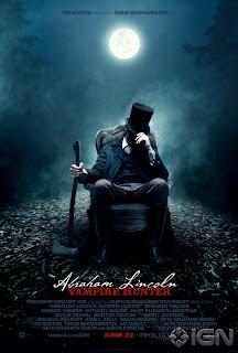 """News: Assista Ao Primeiro Trailer De """"Abraham Lincoln: Cacador De Vampiros"""" . 17"""