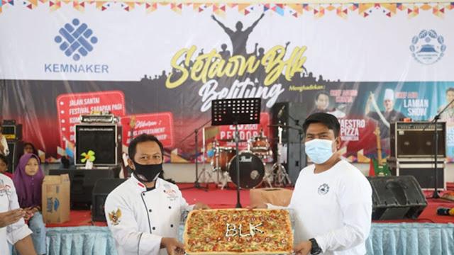 Kemnaker melalui  BLK Belitung Gelar Pameran Setaon Pada Akhir Tahun