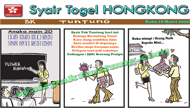 Prediksi Togel JP Hongkong Rabu 18 Maret 2020 - Prediksi Pak Tuntung