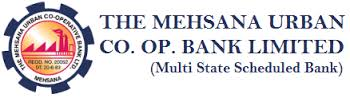 Mehsana Urban Cooperative Bank Limited Recruitment 2017 GM, AGM, HRD, Law Manager, Receptionist – 12 Posts