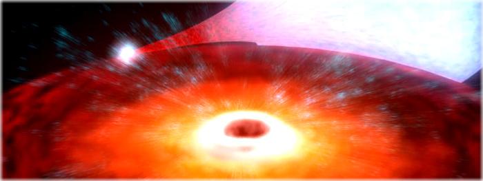 qual é o menor buraco negro do universo?