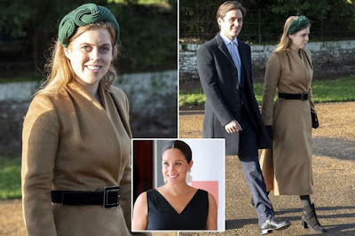 Princess Beatrice broke huge royal tradition on Christmas morning - because of Meghan Markle