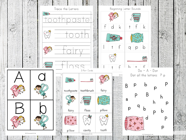 Tooth-Fairy-Printable-Pack-Literacy